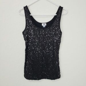 Old Navy | NWT Black Sequin Tank Top